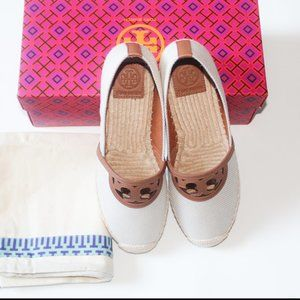 NEW AUTHENTIC TORY BURCH ESPADRILE